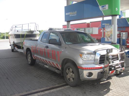 došel benzín