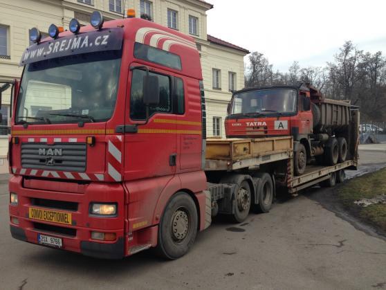 Nadrozměrná přeprava 2